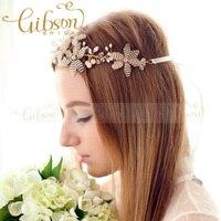 Spedizione gratuita in rilievo petalo hairbands ornamenti per capelli da sposa attore accessorio dei capelli photo prop