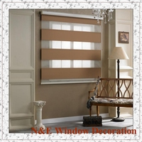 Window zebra roller blinds for living room custom made color and size 100X100cm