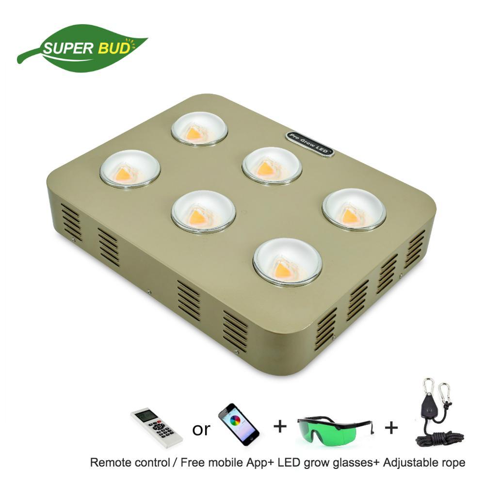 VENUS SK6 COB LED grandir lumière spectre complet lumière du soleil puce 600W dimmable minuterie télécommande/WIFI contrôle cultivo plante d'intérieur cultiver lampe