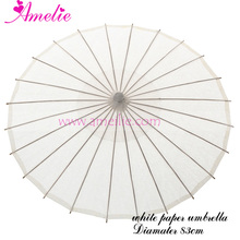 Amelie Wholesaler Paper Craft Umbrella Bridal Parasol 40pcs