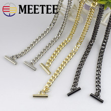1PCS High Quality 120cm Purse Chain Strap Handle Shoulder Crossbody Handbag Bag Metal Replacement 3 Colors