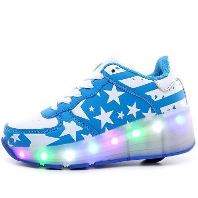 2017 luz led shoes lace menina meninos das crianças das crianças shoes rosa preto primário esportes shoes