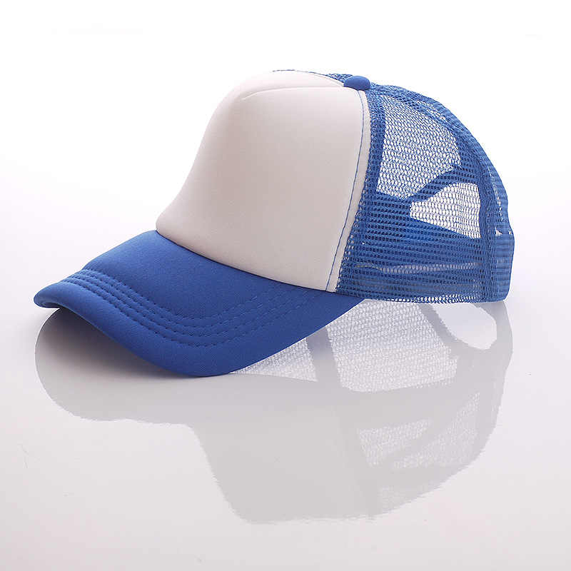 4f277ac1e35c7c ... 10 PCS Free Custom Logo Baseball Cap Adult Child Personality DIY Design Trucker  Hat 100%