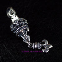 Thailand, Girls Stereo Crown And Anchor Sterling Silver Pendant