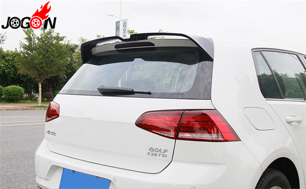 Accessories ABS Rear Spoiler Wing Trunk Lip For VW GOLF GTD GTE MK7 7 5 2014