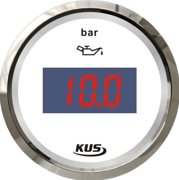 digital fuel pressure gauges fuel pressure meters 12v 24v for auto boat motor home yacht universal