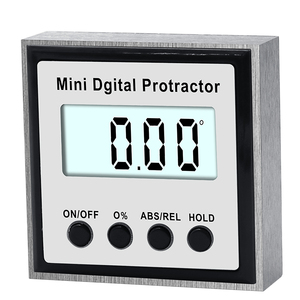 Image 5 - Electronic Protractor Digital Inclinometer 0 360 Stainless Steel Digital Bevel Box Angle Gauge Meter Magnets Base Measuring tool