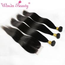 Wonder beauty средней закрытия три со части прямо бесплатно перуанский девы