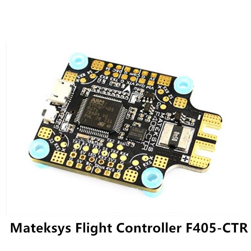 Mateksys controlador de vuelo F405-AIO F405-CTR BetaFlight OSD DSHOT STM32F405RGT6 PDB 5 V/2A MicroSD caja negra 184A Sensor de corriente