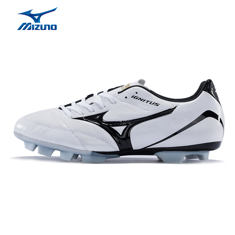 MIZUNO 2016 Men's Sports Beathable Cushioning Soccer Shoes IGNITUS 4 MD Light Sport Shoes Sneakers P1GA163254 YXZ005 бутсы mizuno ignitus tm