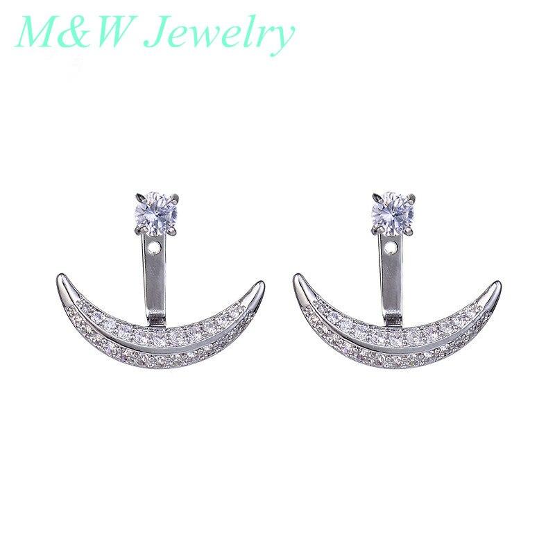 2017 Korean version of the Stud Earrings in the 925 sterling silver earrings eardrop hot bursts earrings jewelryM&W1500