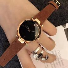 купить Luxury Brand Rose Gold Women Watch Fashion Casual Crystal Dress Wristwatch Ladies Leather Waterproof Quartz Watch Female Clo дешево