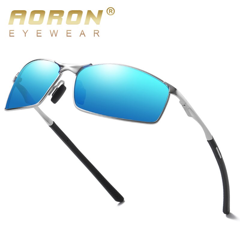 Aoron Sunglasses Mens/Women Polarized Sunglasses,Outdoor Driving Classic Mirror Sun Glasses Men,Metal Frame UV400 Eyewear 1
