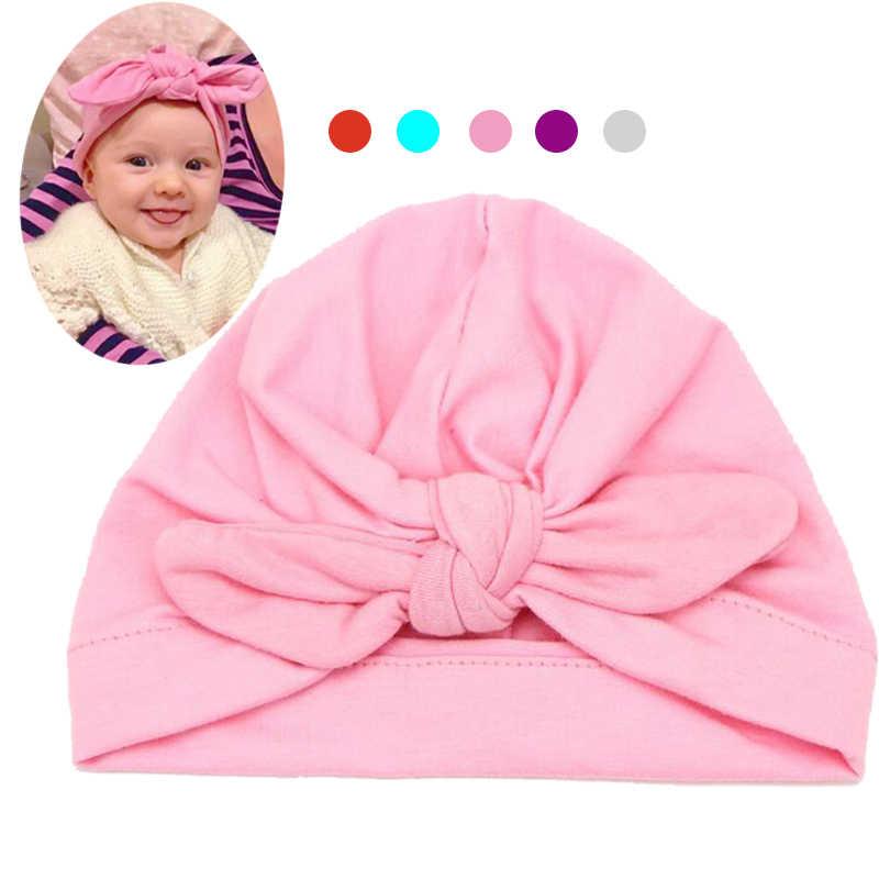 b2528548e96 Baby Hats Bohemia Children Baby Caps Cotton Unisex Girls Boys Hats Newborn  Photography Props Candy Color