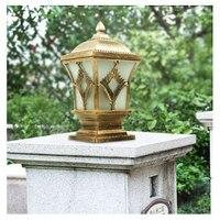 Крыльцо свет открытый свет водостойкие колонки фары вилла Творческий Ретро балкон садовые светильники бра