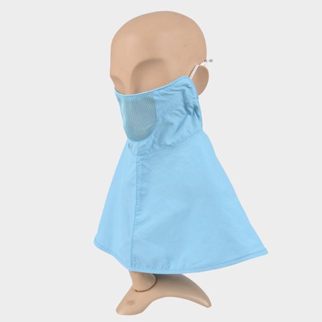 Kenmont Gorros (Sin Sombrero) de Verano Modelos Delgadas Máscaras Cuello Máscaras Contra El Polvo Máscara de Protección Solar UV C-3191 Ciclista Femenino