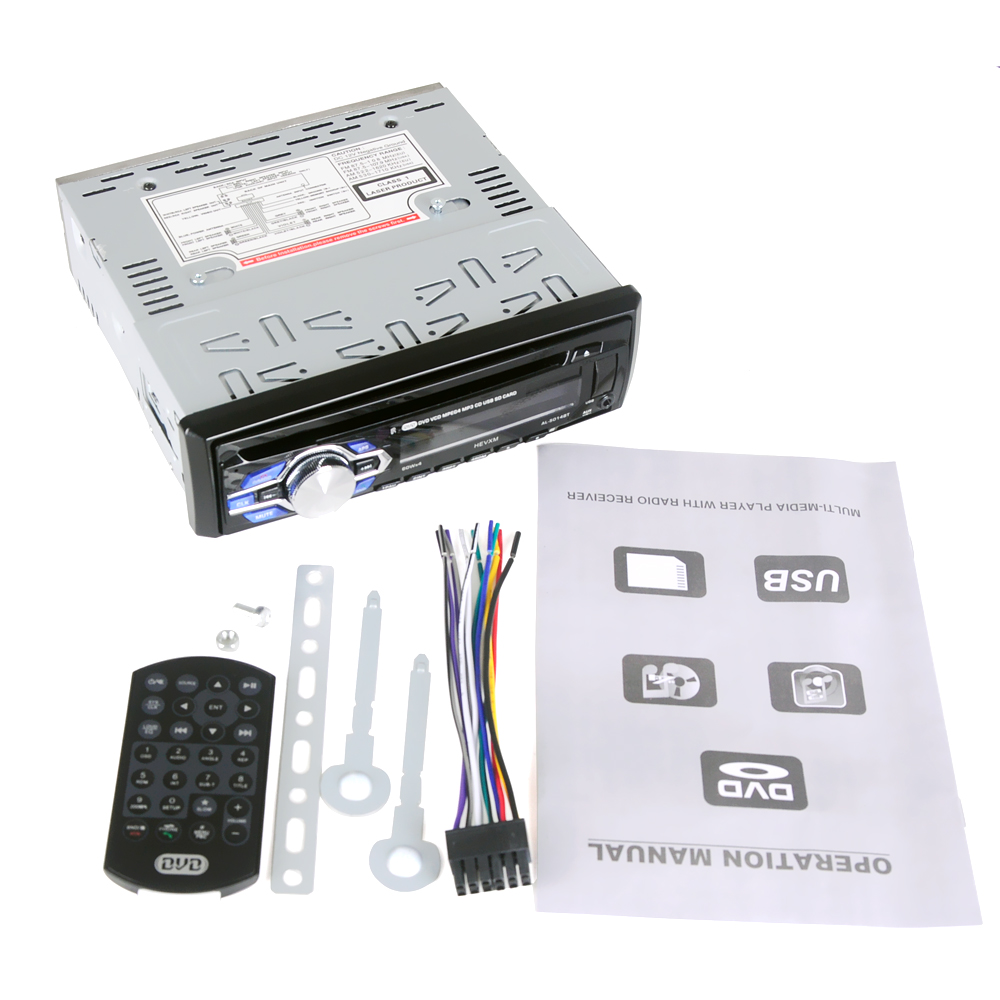 Image 4 - 5014 1din 12V  Car DVD Player Car Audio CD Multi function vehicle DVD player  DVD VCD CD Player with Remote Control MP3 play-in Car CD Player from Automobiles & Motorcycles