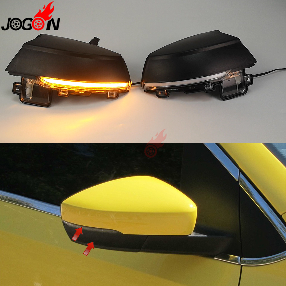 For Volkswagen VW POLO MK5 6R 6C 2009-2013 2014 2015 2016 2017 Dynamic LED Turn Signal Light Side Wing Mirror Indicator Blinker For Volkswagen VW POLO MK5 6R 6C 2009-2013 2014 2015 2016 2017 Dynamic LED Turn Signal Light Side Wing Mirror Indicator Blinker