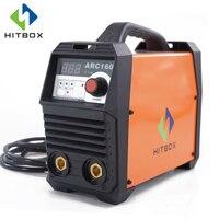 HITBOX Inverter Welder ARC160 Digital DC MMA 220V Welding Machine 160A Portable Size IGBT Welder