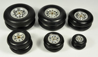 1 Pair Of High Quality Rubber RC Parts Wheel Tire 1 75 2 5 3 3