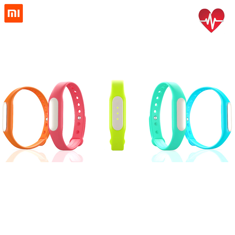 Original Xiaomi Mi Band 1S IP67 Bluetooth 4.0 Heart Rate Smartband Bracelet Replacement Wearable Wrist Strap Wristband Xaomi