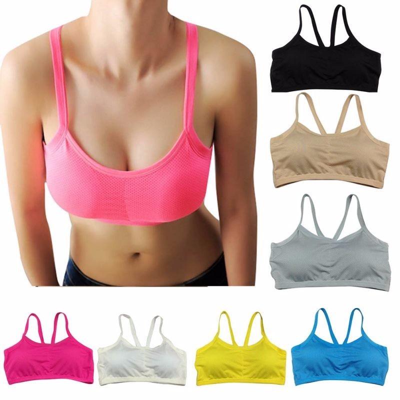 Women Underwear Sports Bra Sportswear Push Up Bra Sexy Lingerie Running Yoga Gym Fitness Girl Strap Tank Top Tracksuit For Women
