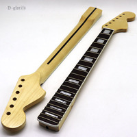 2019 high gloss big head electric guitar neck with square shell inlay fretboard