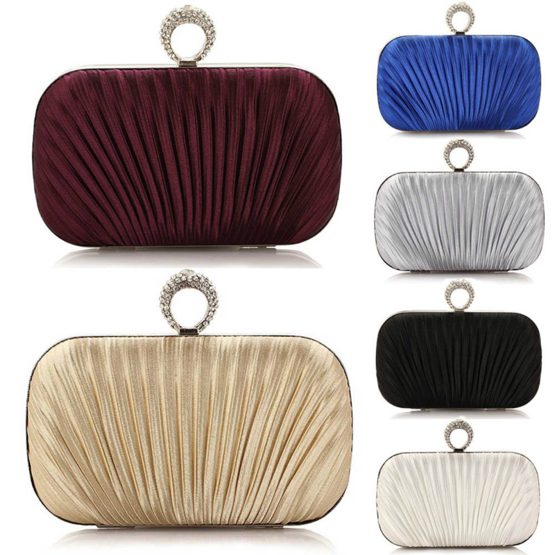 New Fashion Brand Handbag Evening Party Bag Folded Wallet Clutch Wallet 2017 Fashion Clutch Evening Bag Purse for Women Balestra fashion hot new aotian glitter sequins spangle handbag party evening clutch bag wallet purse dropshipping 72 24