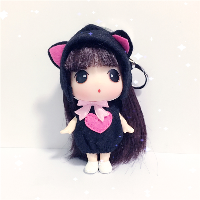 Luxury Exquisite Cute Simulation Girl Plush Confused Doll