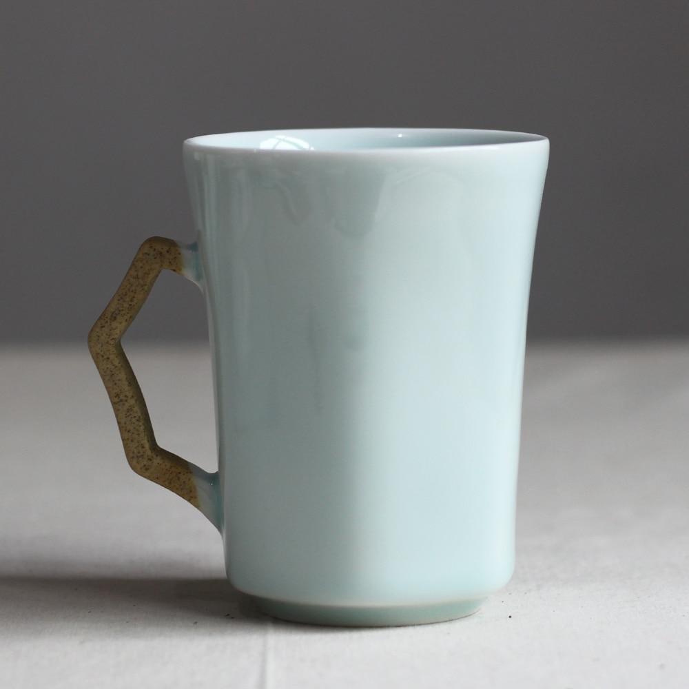 Cuchara de taza de cerámica con tapa taza vintage personalizada taza - Cocina, comedor y bar