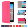 """PU Leather Stand Case Cover For Lenovo Tab2 Tab 2 A7-20 A7-20F 7"""" Tablet + 2Pcs Screen Protector"""