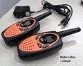 2 шт. orange TS628 Пара портативный двухстороннее радио трансивер FRS GMRS walkie-talkie удобный мобильный радио Амадор w/зарядное устройство гарнитуры