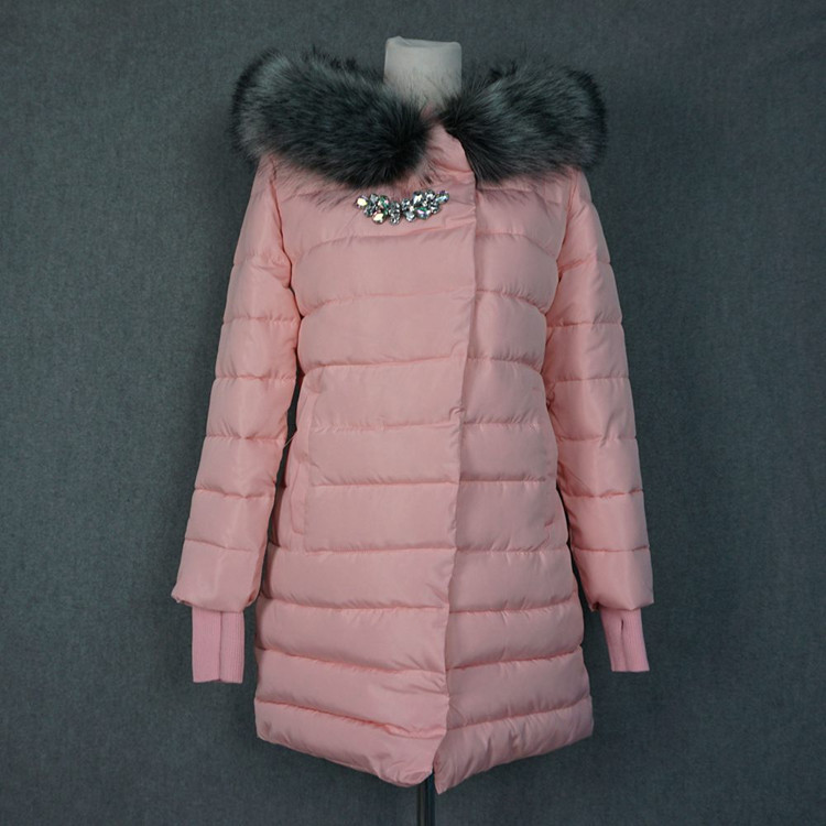 2017 Winter Fashion Cotton Coat Female Slim Warm Hooded Parkas Female Overcoat High Quality Glooves Women Cotton padded Jacket 2017 new winter fashion cotton coat female slim warm hooded parkas female overcoat high quality women cotton padded long jacket