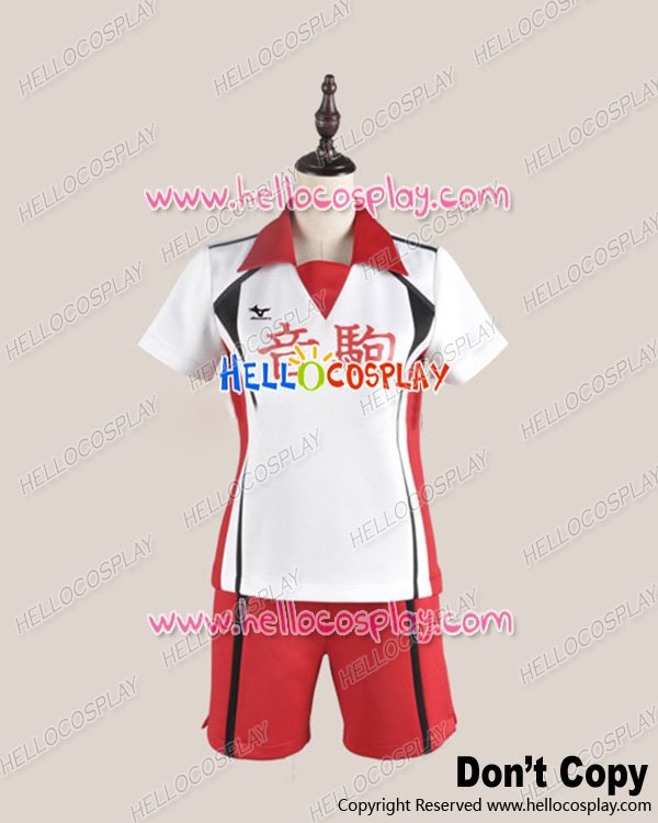 Japanese Anime Outfit Haikyu Cosplay Juvenile Uniform Costume Without Number Ver H008