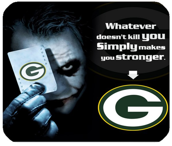 f5150801f8590 NFL Green Bay Packers With Joker Poker Durable Rectangle Mouse Pad Made Of  Fabric Decoration Your Computer Desk-in Mouse Pads from Computer   Office  on ...