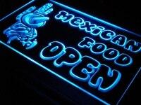 I101 MỞ Mexico Xương Rồng Thực Phẩm Bar Cafe New Nhẹ Đăng Nhập On/Off Chuyển Đổi 20 + Màu Sắc 5 Kích C