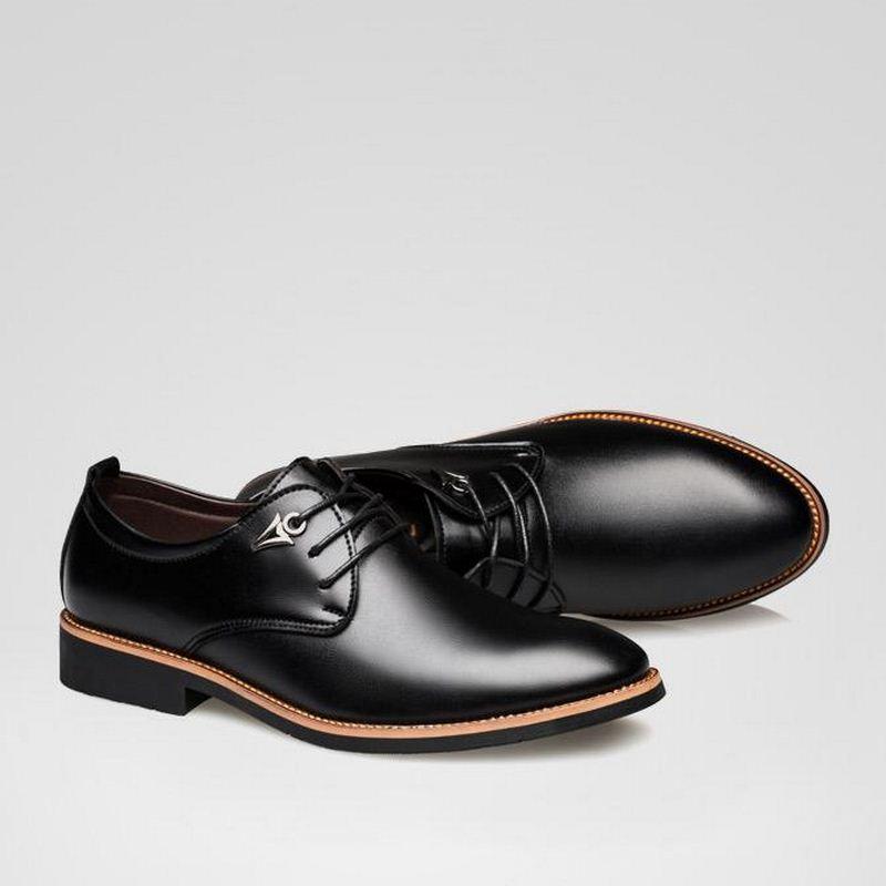 Chaussures Bout D'affaires Monsieur Formelle Aa10172 Italien Oxford Noir Pointu Dentelle De Cuir Travail Mocassins marron En Habillées Hommes up PIEq1wdE