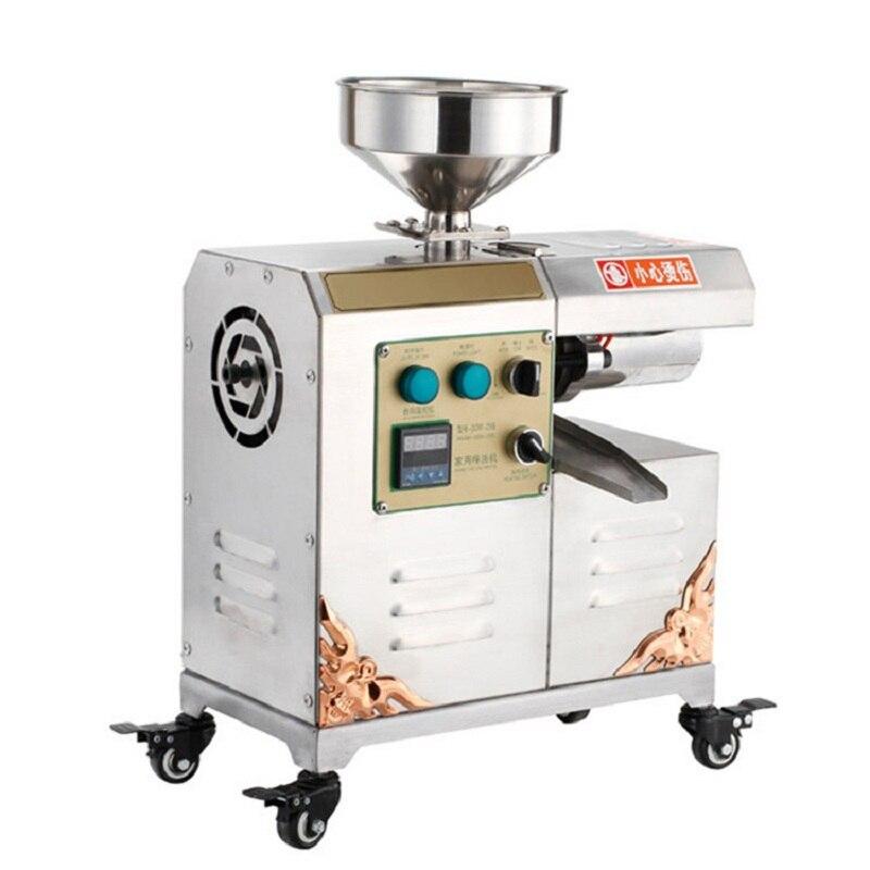Machine d'extraction d'huile de presse à froid d'huile d'olive de graine de sésame de noix de coco hydraulique de Moringa