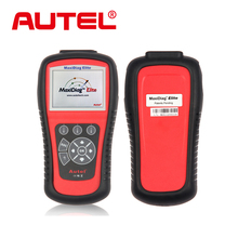Original autel maxidiag elite md802 code scanner MaxiDiag Elite MD802 for All System dhl free shipping