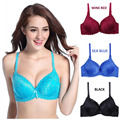 Hot sales! 2016 B cups full lace coverage push up bra sexy lace bra intimate brassiere thin cup bras for women lingerie H062