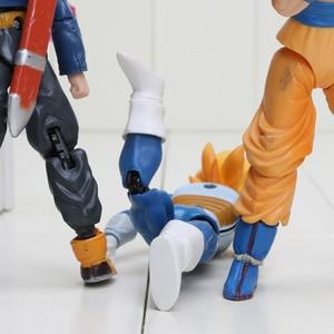 Image 5 - Z משותף מטלטלין Vegeta פיקולו בן Gohan בן צמיגי גוקו Gogeta PVC פעולה איור צעצועים