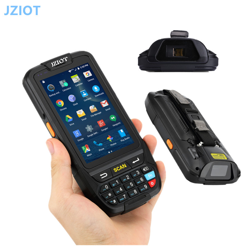 US $370 5 5% OFF|RFID Passive UHF ISO18000 6C 860 960MHz Handheld Reader  for Stock Control handheld terminal android PDA data collection -in  Scanners