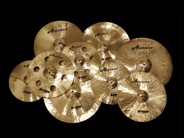 Arborea Cymbal Dragon Series Cymbal set 14