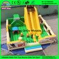Fabricantes de precio de fábrica para la hermosa ciudad de la diversión inflable castillo inflable castillo Inflable con tobogán