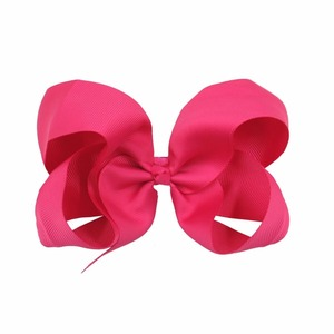 """Image 5 - 30 Pcs 6 Inch Hair Bows for Girls Big Grosgrain Girls 6"""" Hair Bows Alligator Clips For Teens Kids Toddlers"""