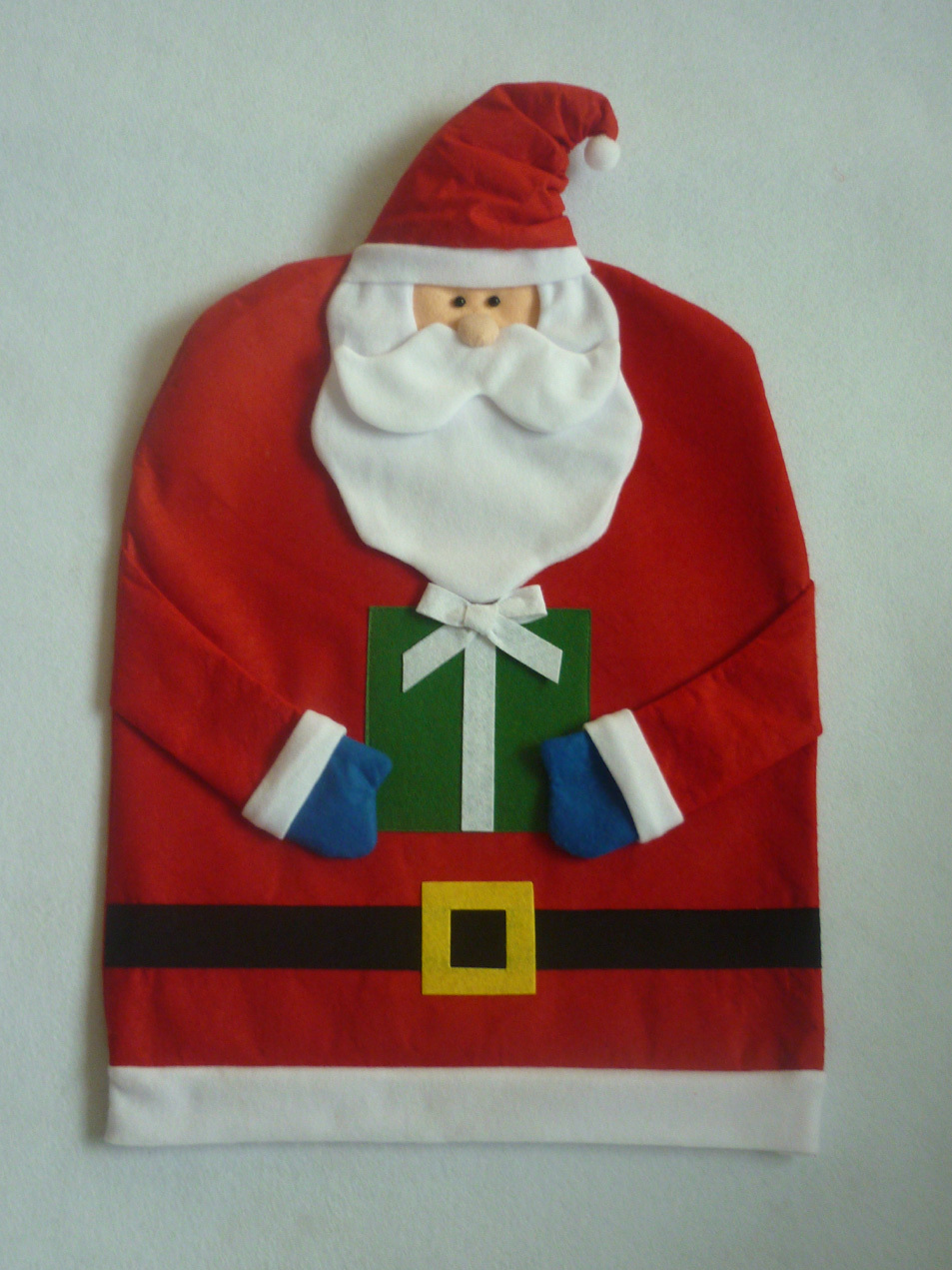 1 Pair Mr Or Mrs Santa Claus Christmas Dinner Decoration Kitchen Chair Covers Chairs Hats Banquet Caps In From Home Garden On
