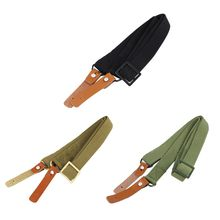 Military Airsoft AK Rifle Sling Quick Release Gun Sling Hunting Shooting Adjustable Rifle Strap Survival Belt Shoulder Outdoor(China)
