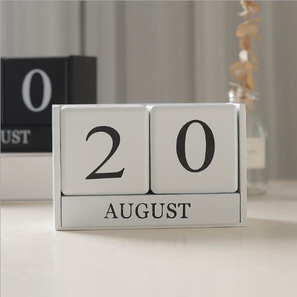 pared mesa escritorio madeira calendario casa decoracoes 02