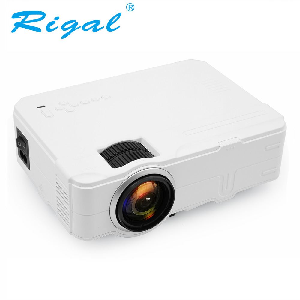Rigal RD812 Mini LED Projector WiFi Wireless Wired Sync Display LCD 3D Projector Multi Screen HDMI VGA USB Video Home Theater led телевизор sharp lcd 60lx850a 60 wifi 3d