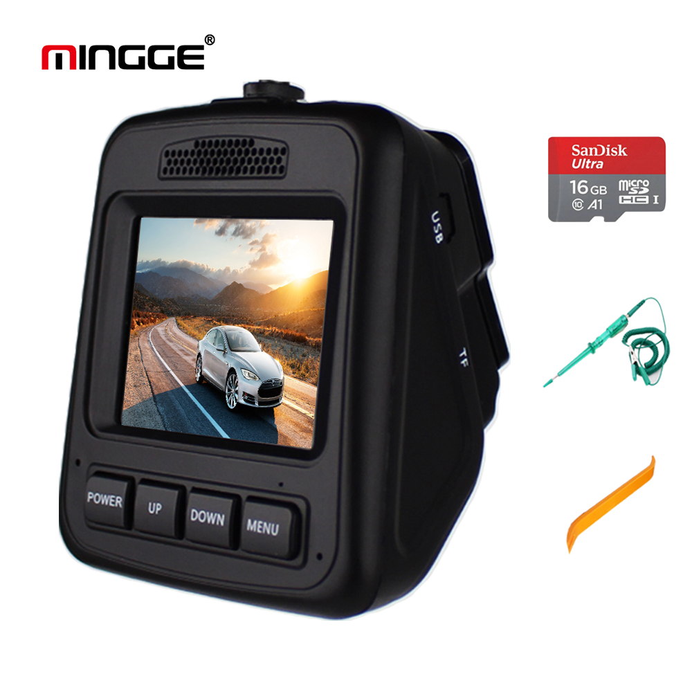 MINGGE 004 D Dash Cam Car Camera 2.3 Screen HD 1080P DVR Car Dashboard Camera with 170 Degree Wide Angle